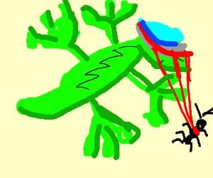 Cyborg Lizard