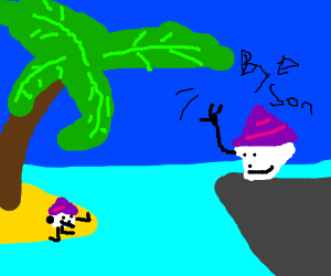 cupcake trusts island with there child