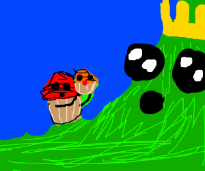 cupcake sacrifices child to mountain god
