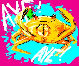 Lemon crab is unacceptable