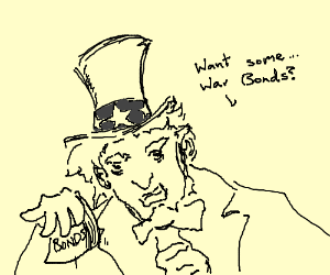 Uncle Sam tryes to con me with false war bons