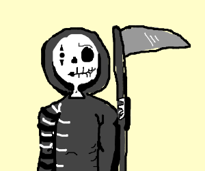 Half Reaper Half Mime