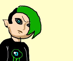 emo kid that looks like jacksepticeye