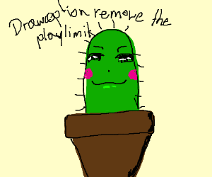 DRAWCEPTION REMOVE THE PLAYLIMIT
