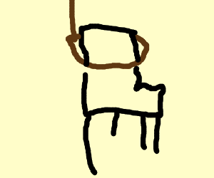Hanged office chair