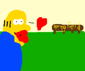 draw your sexiest homers simpson