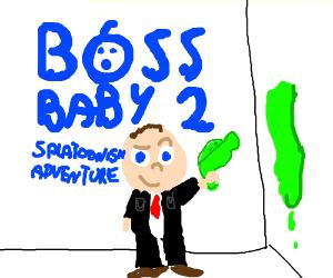 Splatoon 2 is Boss Baby - Drawception