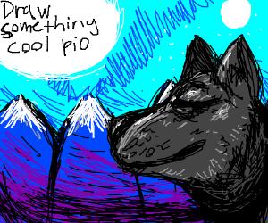 Draw something cool pio
