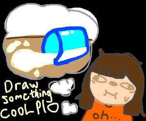 draw something cool P I O