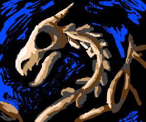 A Snake / Dragon Skeleton