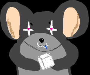 Mouse addicted to sugar