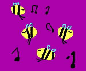 Bee dance