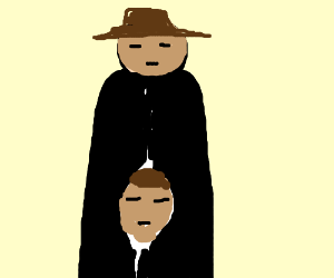 a99db99d5 two kids in a trenchcoat - Drawception