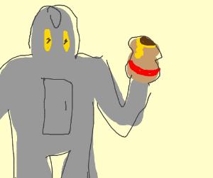 The Iron Giant has honey