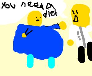roblox character needs diet drawception