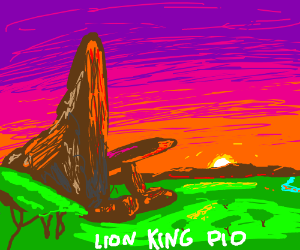 Lion King, pass it on!