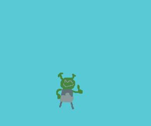 Mini Shrek Is Doing Juuuust Fine!