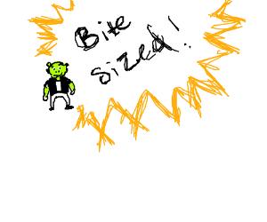 Bite-Sized Shrek