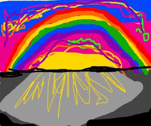 Rainbow/Neon Sunset