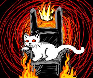 cat - ruler of hell