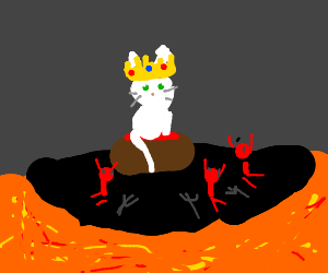 White Cat is the King of Hell