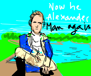 Transitioned to a woman, now he Alexander man