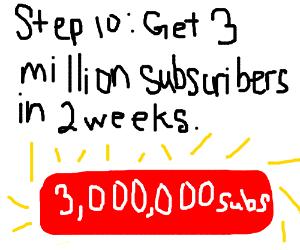 Step 9: Make poor challenge videos