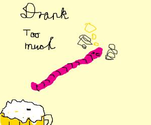 drunk worm