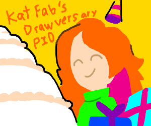 katfab777's Year (and a bit) Draw-versary! PIO