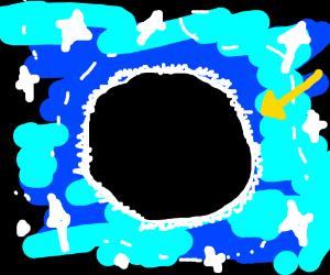 black hole?