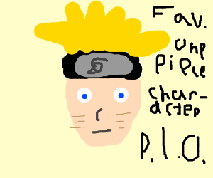 Favorite one piece character PIO