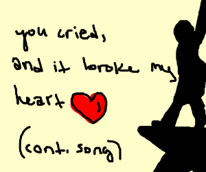 When you came into the world, (Cont. Song)