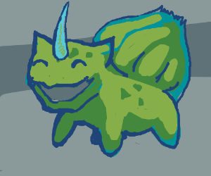 unicorn bulbasaur