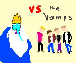 iceking against vamps