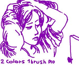 2colors one brush PIO