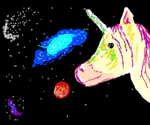 Zombie Space Unicorn
