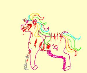 body horror unicorn