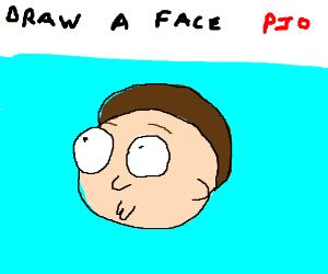 Draw a face PIO