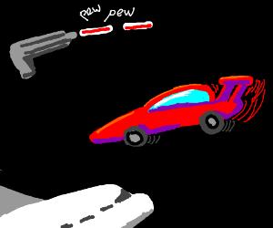 lazers, racecars, airplanes