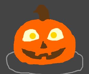 Spoopy Pumpkin face