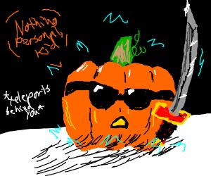 teleporting pumpkin