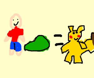 Pikachu farted