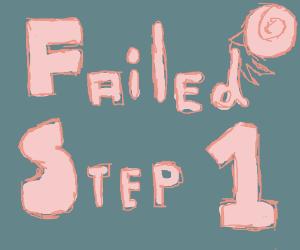 Step 1: make this top
