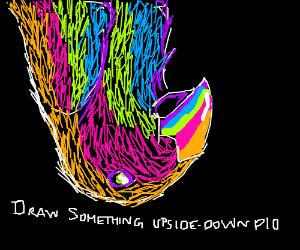 Draw Something Upside-Down, PIO