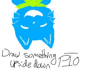 Draw something upside down PIO