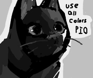 Use all colors PIO