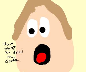 Boy is shocked by derail