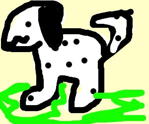 dalmatian puppy (so cute)