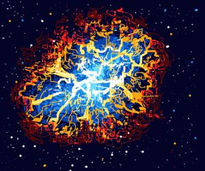 A stunning Supernova