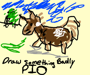 Draw something badly (PIO)